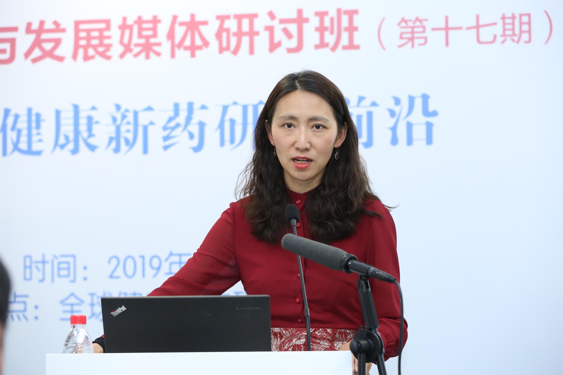 盖茨基金会北京代表处首席代表李一诺发表主旨演讲.jpg